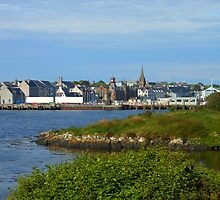 Stornoway Across The Water - Western Isles, Scotland by MidnightMelody