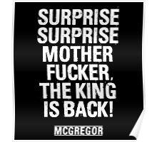 McGregor - Surprise Surprise - UFC202 Poster