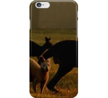 The three of us iPhone Case/Skin