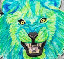 Lion / Löwe version 3 Sticker