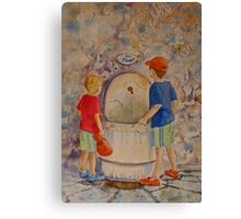 Eau potable - Drinkable water Canvas Print