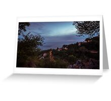From the wood to the sea of Trieste Greeting Card