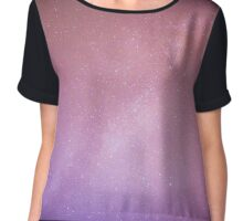 Perseids meteor and milky way Chiffon Top