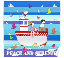 Peace and Serenity Poster