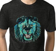 Lion / Löwe version 6 Tri-blend T-Shirt