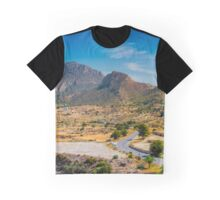 Cabecon del Oro from Busot panorama Graphic T-Shirt