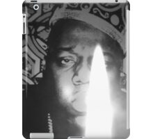 notorious BIG spits fire iPad Case/Skin