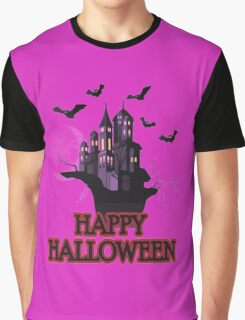 Happy Halloween Vintage Haunted House T-shirt