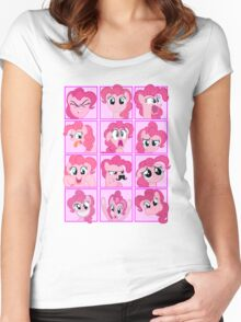 Mirror Pool of Pony - Pinkie Pie Women's Fitted Scoop T-Shirt