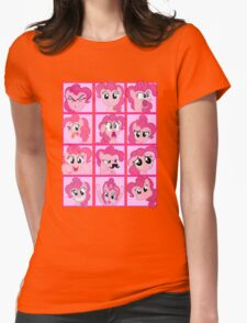 Mirror Pool of Pony - Pinkie Pie Womens Fitted T-Shirt