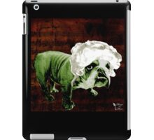 "Mozart and Marie ""Bulldog Composer"" iPad Case/Skin"