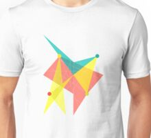 Abstract Slanted Square  Unisex T-Shirt