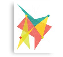 Abstract Slanted Square  Canvas Print