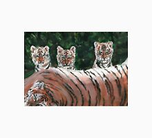 Tiger Cubs and Parent Unisex T-Shirt