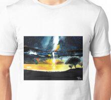 White Streak Unisex T-Shirt
