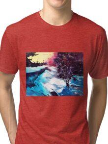 Icy Morning Tri-blend T-Shirt