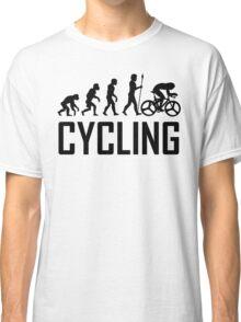 Biking Evolution Classic T-Shirt