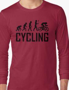 Biking Evolution Long Sleeve T-Shirt