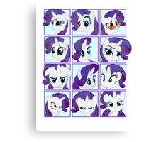 Mirror Pool of Pony - Rarity Canvas Print
