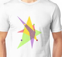 Abstract Trapezoid Unisex T-Shirt