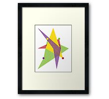 Abstract Trapezoid Framed Print