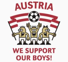 We Support Our Boys! (Austria / Fußball) Kids Clothes