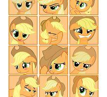 Mirror Pool of Pony - Applejack by ForeverDarkrai