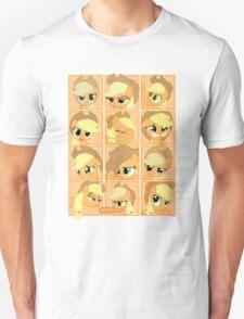 Mirror Pool of Pony - Applejack Unisex T-Shirt