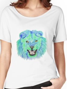 Lion / Löwe version 10 Women's Relaxed Fit T-Shirt