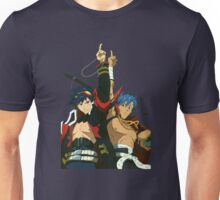 Simon and Kamina Brothers Anime Manga Shirt Unisex T-Shirt