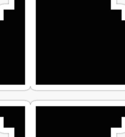 8-Bit Smash Ball Sticker