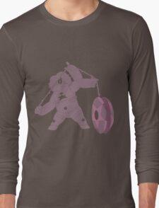 Smoky Silhouette Long Sleeve T-Shirt