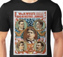 Performing Arts Posters Wm H Wests Big Minstrel Jubilee formerly of Primrose West 1762 Unisex T-Shirt