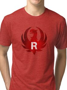 Red Ruger Firearms Tri-blend T-Shirt