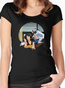 Pulp Fiction - Mia Standalone Variant Women's Fitted Scoop T-Shirt