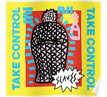 Slaves Take Control New Album Cover Band Poster