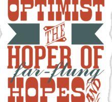Optimist Sticker