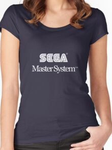 Sega Master System Women's Fitted Scoop T-Shirt