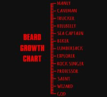 Beard Ruler. Unisex T-Shirt