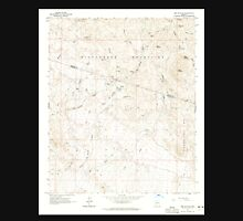 USGS TOPO Map Arizona AZ Red Picacho 313061 1964 24000 Unisex T-Shirt