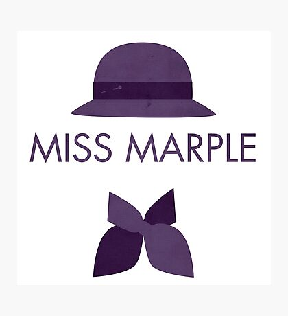 Miss Marple Photographic Print