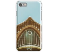 Mercado Colon In Valencia iPhone Case/Skin