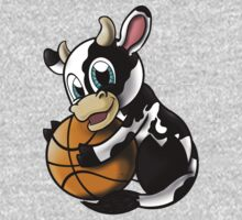 Cow B-ball One Piece - Long Sleeve