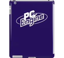 PC Engine - White Logo iPad Case/Skin