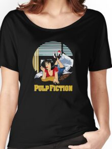 Pulp Fiction - Mia Circular Variant Women's Relaxed Fit T-Shirt