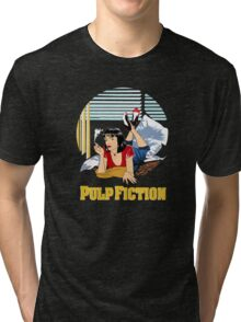 Pulp Fiction - Mia Circular Variant Tri-blend T-Shirt