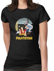Pulp Fiction - Mia Circular Variant Womens Fitted T-Shirt
