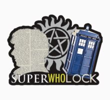 SuperWhoLock - Crossover MegaVerse Kids Clothes
