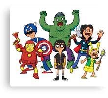 Bob's Avengers Canvas Print