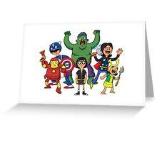 Bob's Avengers Greeting Card